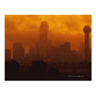 Carte Postale Brouillard enfumé dans la ville