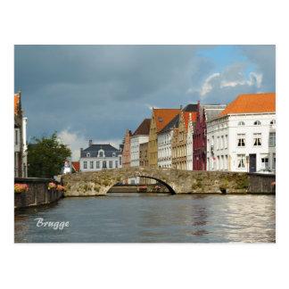 Carte Postale Bruges, Belgique