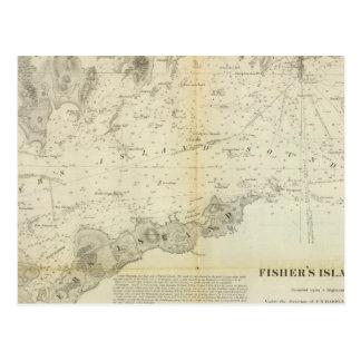 Carte Postale Bruit de l'île de Fisher