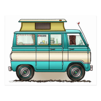Carte Postale Bruit Top Van Camper