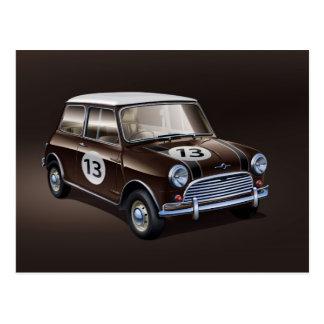 Carte Postale Brun de Mini Cooper S