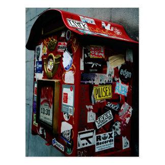 Carte Postale Bruxelles : Boîte ou boîte aux lettres