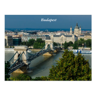 Carte Postale Budapest