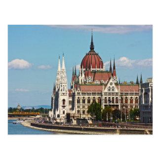 Carte Postale Budapest, le bâtiment du Parlement