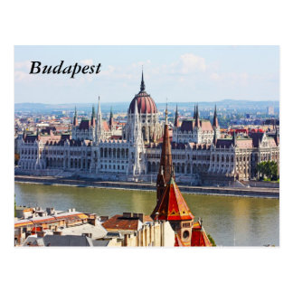 Carte Postale Budapest, le bâtiment du Parlement, Budapest