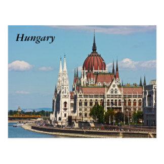 Carte Postale Budapest, le bâtiment du Parlement, Hongrie
