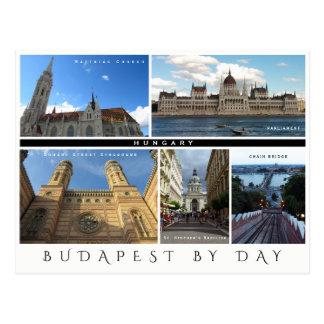 Carte Postale Budapest par jour