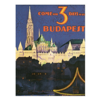 Carte Postale Budapest vintage