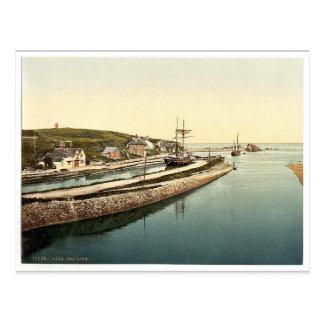 Carte Postale Bude, la serrure, cru Photochr des Cornouailles,