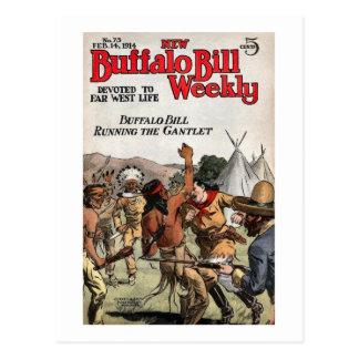 Carte Postale Buffalo Bill 9 hebdomadaires