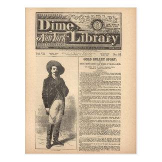 Carte Postale Buffalo Bill - demi de bibliothèque 1879 du
