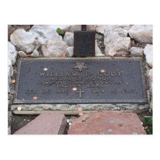 Carte Postale Buffalo Bill - tombe de William Cody