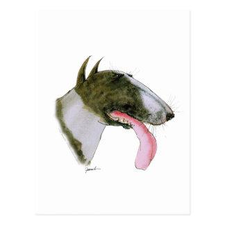 Carte Postale Bull-terrier, fernandes élégants