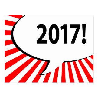 Carte Postale bulle 2017 comique