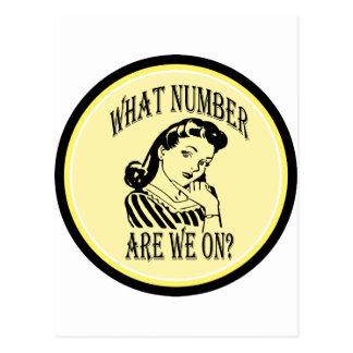 Carte Postale Bunco quel nombre sont nous sur #2