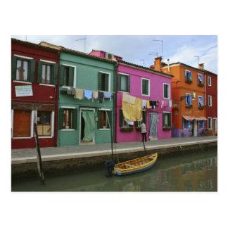 Carte Postale Burano, Italie