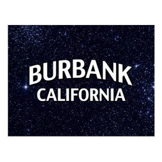 Carte Postale Burbank la Californie