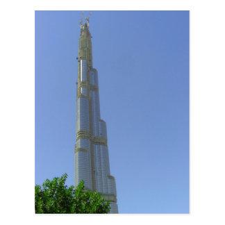 Carte Postale Burj tour de Dubaï, Dubaï, Burj Khalifa
