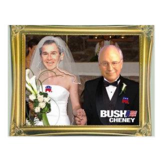 Carte Postale Bush_Gay_Marriage