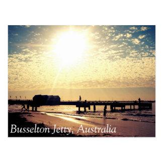Carte postale Busselton Australie