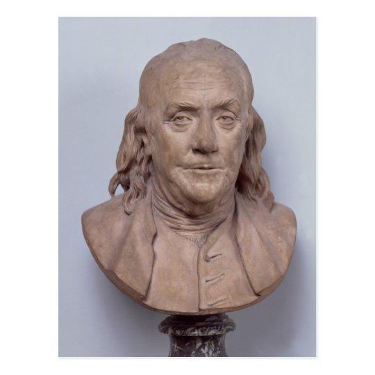 Carte Postale Buste De Benjamin Franklin 1778