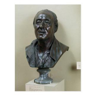 Carte Postale Buste de Denis Diderot 1777