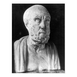Carte Postale Buste de Hippocrate