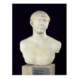 Carte Postale Buste de Trajan c.108