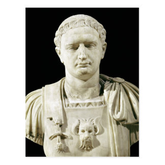 Carte Postale Buste d'empereur Domitian