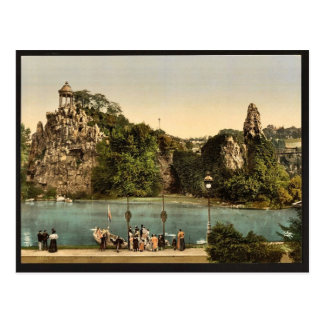 Carte Postale Buttes cru Photoch de Chaumont, Paris, France de