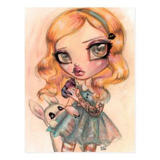 Carte Postale Buvez-moi - Alice au pays des merveilles par