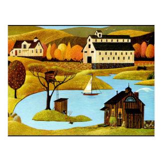 Carte Postale Cabane dans un arbre d'île