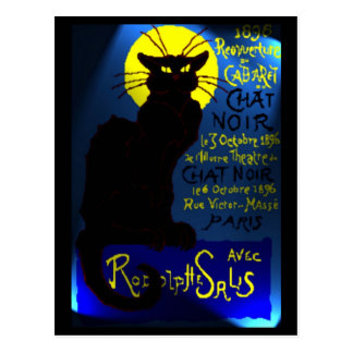 Carte Postale Cabaret du Chat Noir