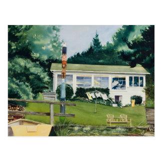 Carte Postale Cabine d'été - Suquamish Washington