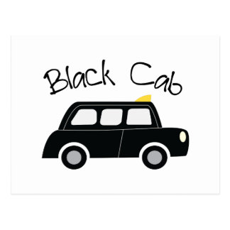 Carte Postale Cabine noire