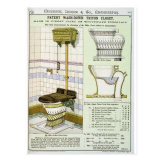 Carte Postale Cabinet de Triton d'un catalogue des articles