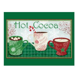Carte Postale Cacao d'hiver