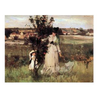 Carte Postale Cache-cache par Berthe Morisot