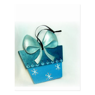 Carte Postale Cadeau bleu II