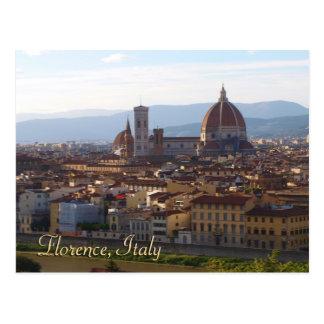 Carte Postale Cadeau de souvenir de voyage de Florence Italie