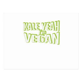 Carte Postale Cadeau libre animal végétal végétarien végétalien