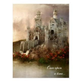 Carte Postale Cadeaux de mariage de princesse Fantasy Castle