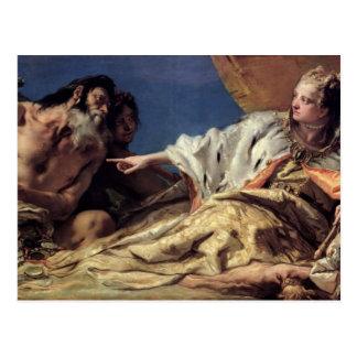 Carte Postale Cadeaux de offre de Neptune vers Venise (fresque