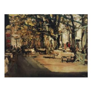 Carte Postale Café de Konstantin Korovin- à Yalta