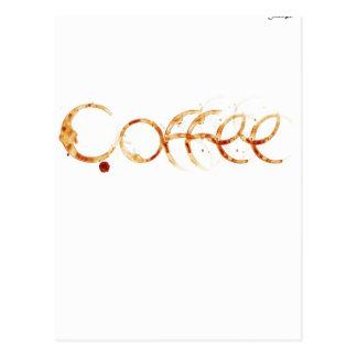 Carte Postale café design