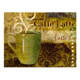Carte Postale Caffe Latte