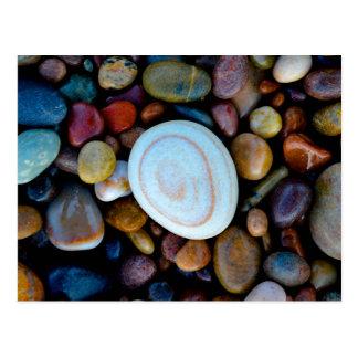 Carte Postale Cailloux (sur la plage de Findhorn)