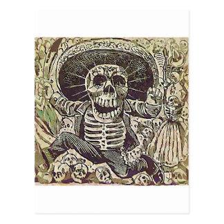 Carte Postale Calavera