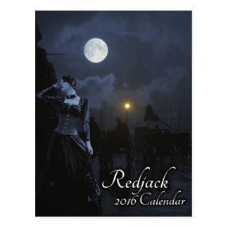 Carte Postale Calendrier de Redjack 2016 - dactylographiez C
