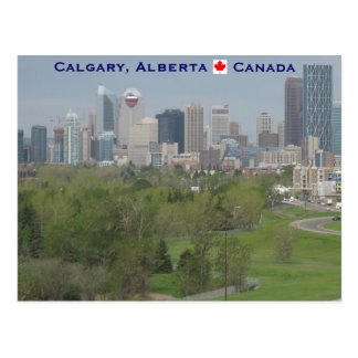 Carte Postale Calgary Alberta Canada